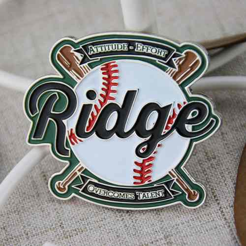 Baseball Custom Pins