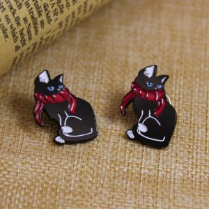Black Cat Custom Pins