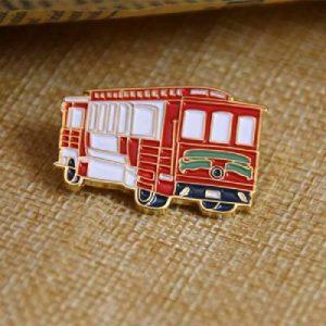 Car Soft Enamel Lapel Pins have a 3D look and feel