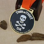 Custom Race Medals for Night Trail Run