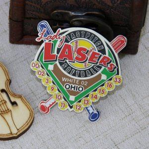 Baseball Trading Pins