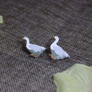 Little Goose Soft Enamel Pins