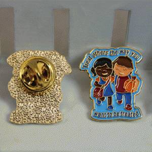 The Back of the Friendship Pin