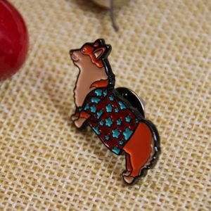 The Side of the Dog Custom Lapel Pin