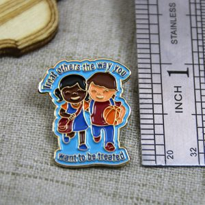 The Size of The Custom Friendship Pin
