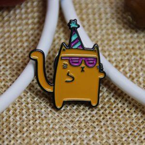 Yellow Cat Custom Lapel Pins
