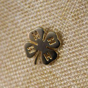 Four-leaf Clover Lapel Pins