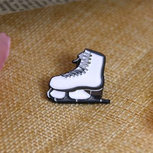 Skating Shoe Pin
