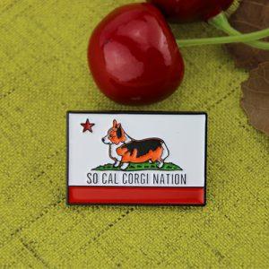 Soft Enamel Pins for Dog