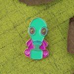 Custom Lapel Pin for Alien