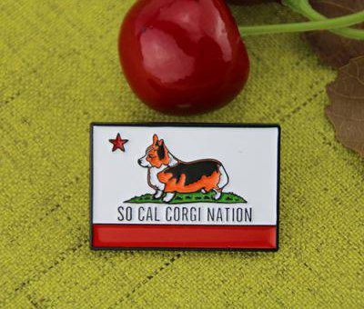 Custom Laple Pins for Lovely Dog