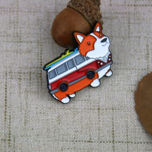 Dog Bus Lapel Pin(1)