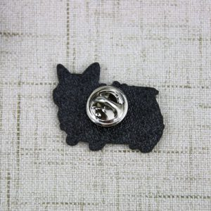 The Back of The Dog Bus Lapel Pin