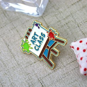 custom lapel pins , custom pins , enamel pin maker,pin manufacturers , soft enamel pins for art class