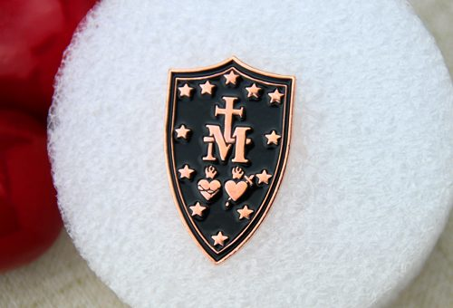 custom lapel pins , custom pins , enamel pin maker,pin manufacturers , soft enamel pins for Cross Shield