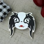custom lapel pins , custom pins , enamel pin maker,pin manufacturers , hard enamel pins for Cartoon Dog
