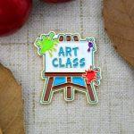 Art Class Lapel Pin