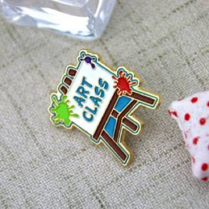 The Different Angle of The Art Class Lapel Pin