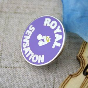 The Different Angle of The Royal Lapel Pin