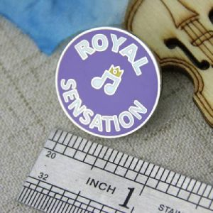 The Size of The Royal Lapel Pin