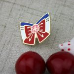 custom lapel pins , custom pins , enamel pin maker,pin manufacturers , hard enamel pins for Rosette