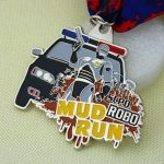 Customized Medals for Police Mud Run