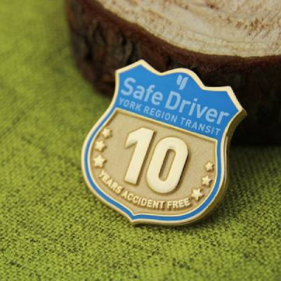 Safe Driver Lapel Pin