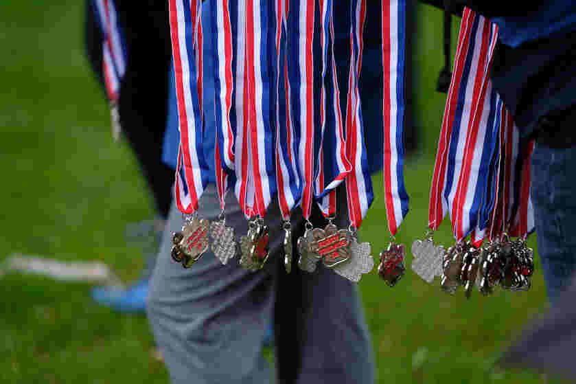 Award Medals for Furry Friend 5K Race