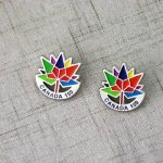 Canada 150th Custom Lapel Pin