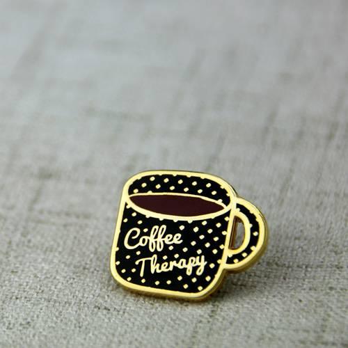 Coffee Cup Lapel Pin