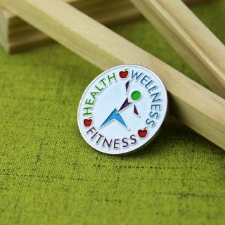 Custom Health Lapel Pin
