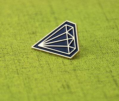 Diamond Lapel Pin
