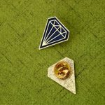 Diamond Lapel Pins