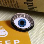Eye Enamel Pins