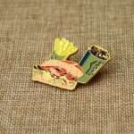 Fast Food Lapel Pin