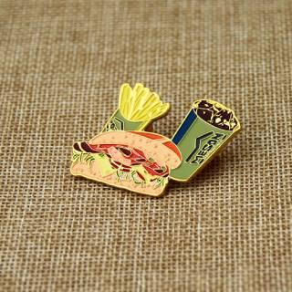 Fast Food Lapel Pin