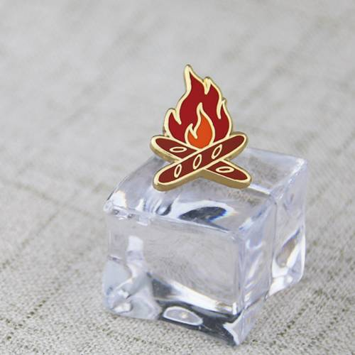 Fire Custom Lapel Pin