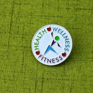 Health Lapel Pin