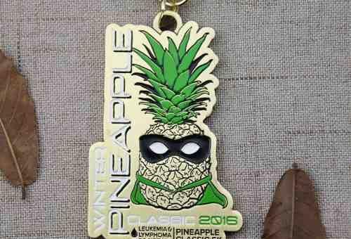 custom Pineapple medal