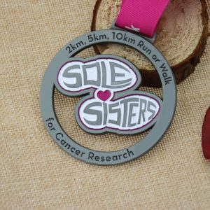 custom medals for Sole Sisters Race