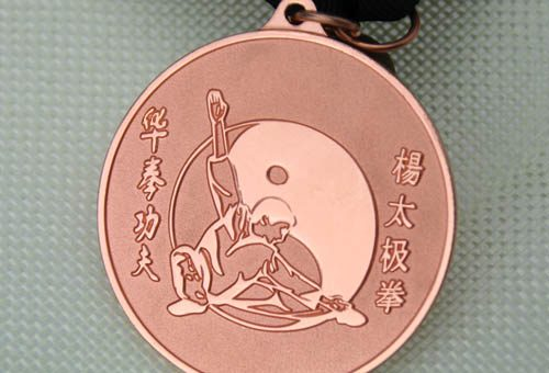 Chinese Kung Fu Medals