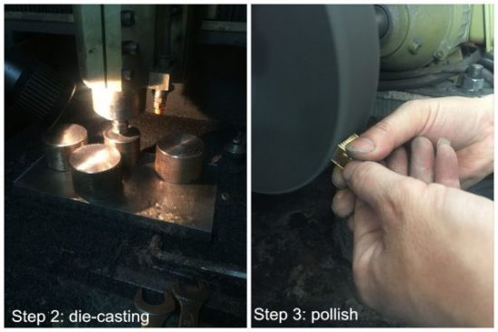 Medal Production Process