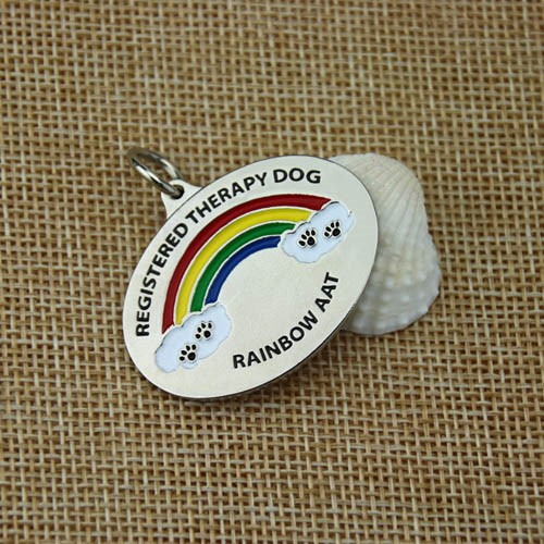 Custom medals with rainbow