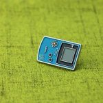 Old Game Console Lapel Pin