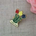 Tulips Lapel Pin