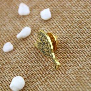 Wheat Lapel Pin