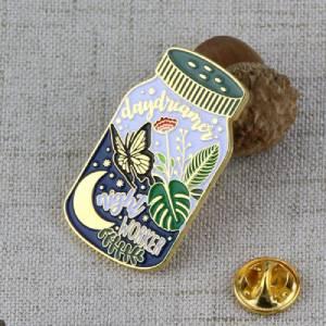 Custom Beautiful Bottle Lapel Pin