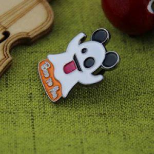 Ghost Emoji Custom Lapel Pin