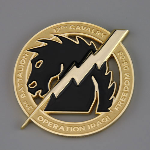 thunder horse battalion challenge coins