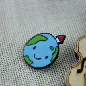 The Earth Custom Lapel Pin